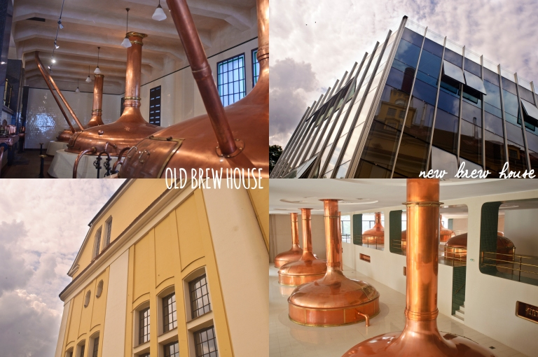 Old and New Brew Houses
